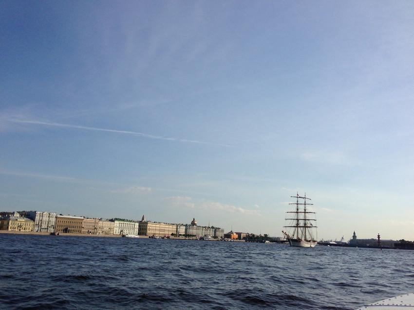 Санкт-Петербург - город на воде