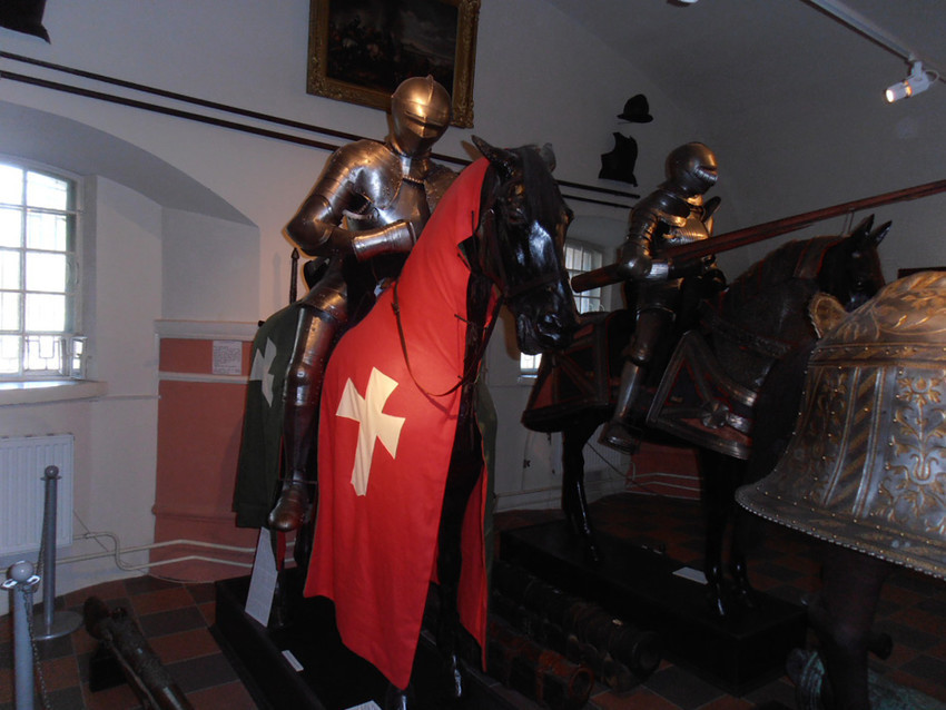 Зал рыцарей в музее артиллерии