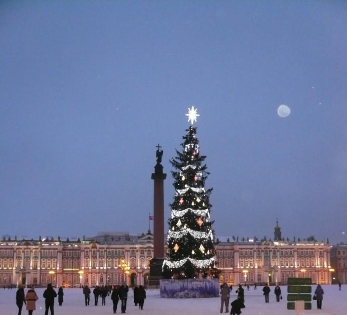 Новогодняя елка в России