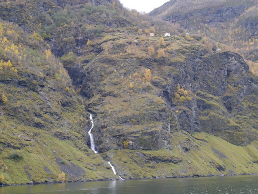 Деревня Норвегии