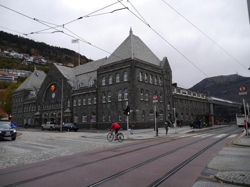 Железнодорожный вокзал Бергена