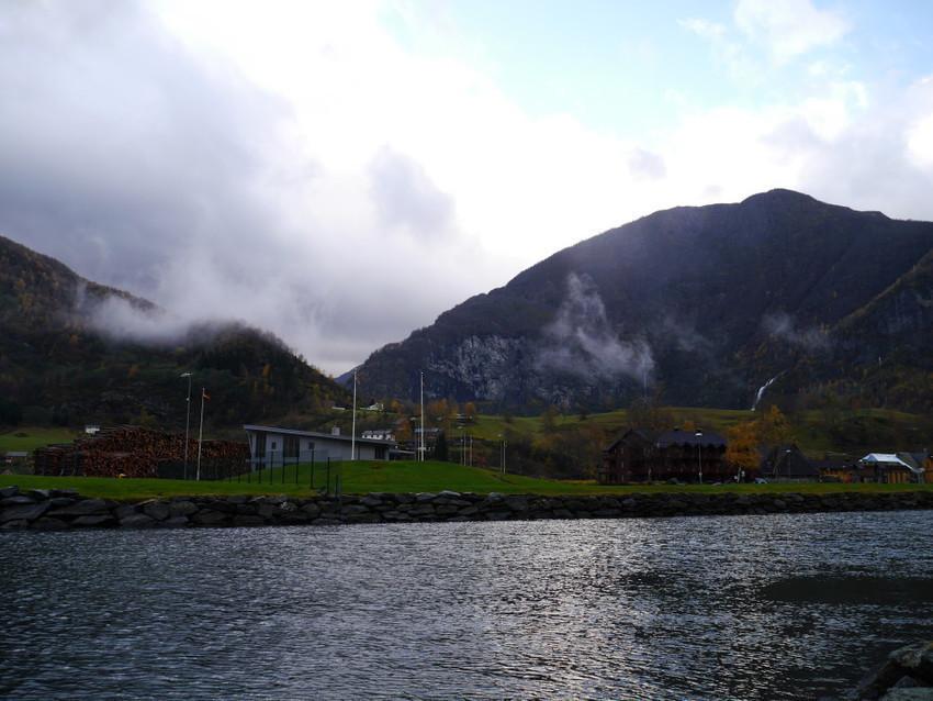 Домики на фьорде