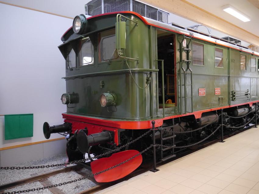 Первый железнодорожный состав на Фломском пути