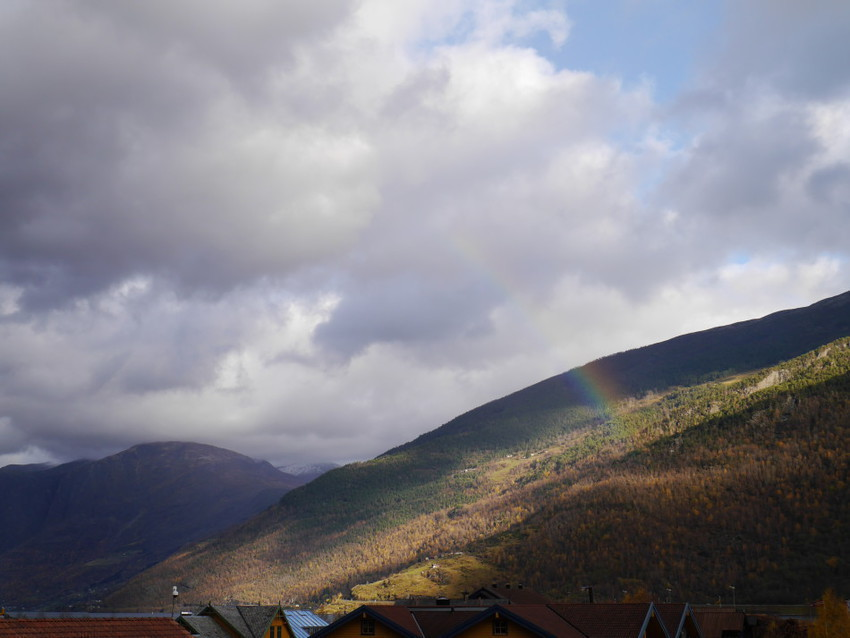 Радуга над фьордами