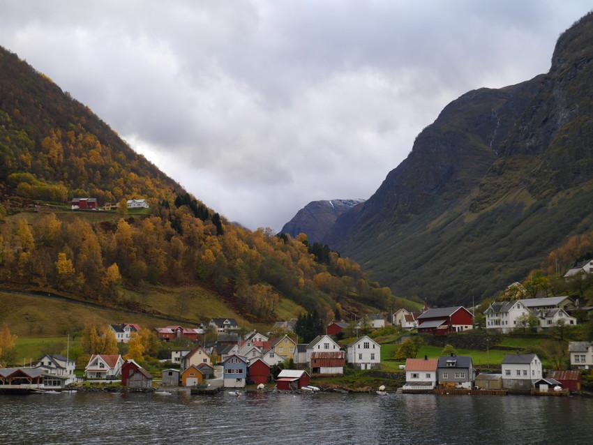 Поселки на фьордах