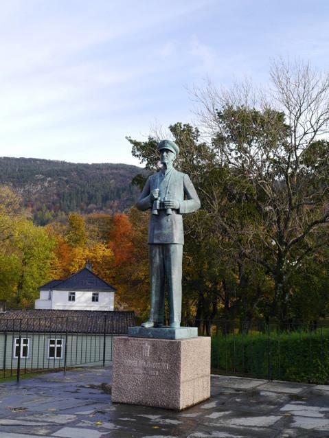 Памятник королю Хокону