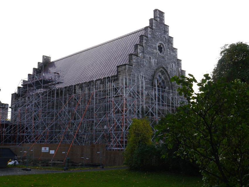 Церковь Христа на территории замка