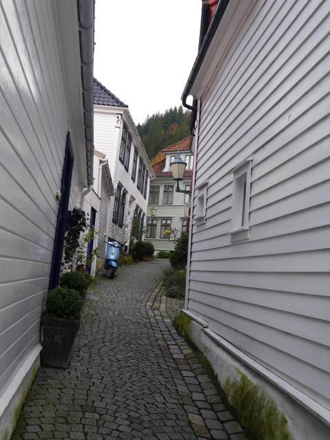 Улочки старого Бергена