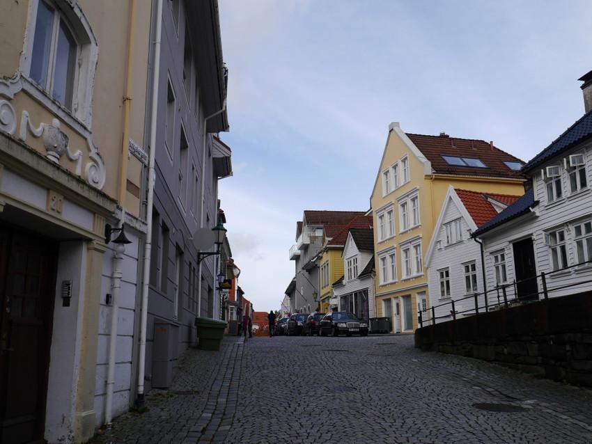 Улицы старого Бергена