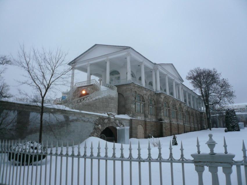Снежная зима в России