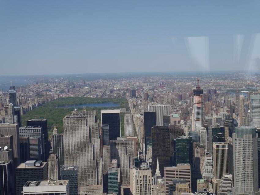 Центральный парк с обзорной площадки