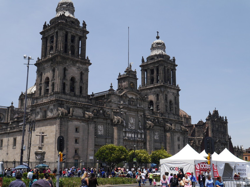 Центраьный Собор Мехико