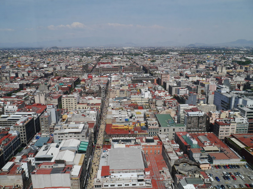 Застройка Мексики
