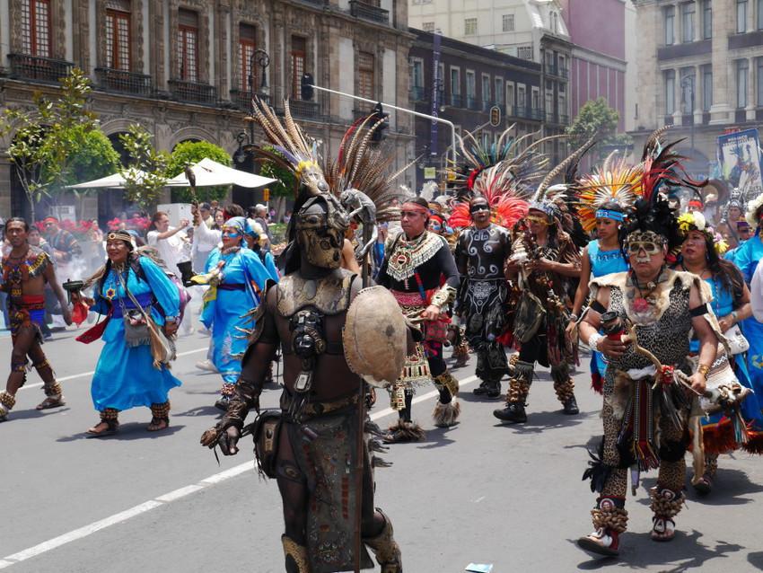Карнавал в Мехико