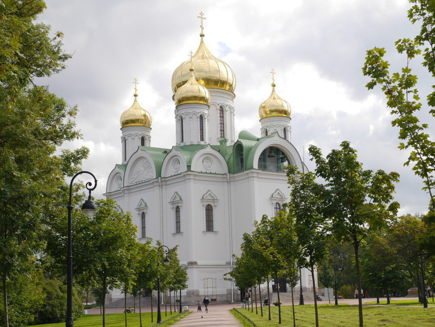 Церковь в Пушкине