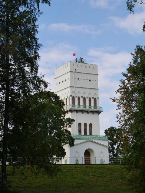Александровский парк, Башня