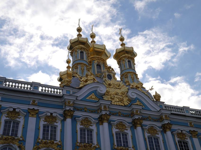 Золотые купола дворца