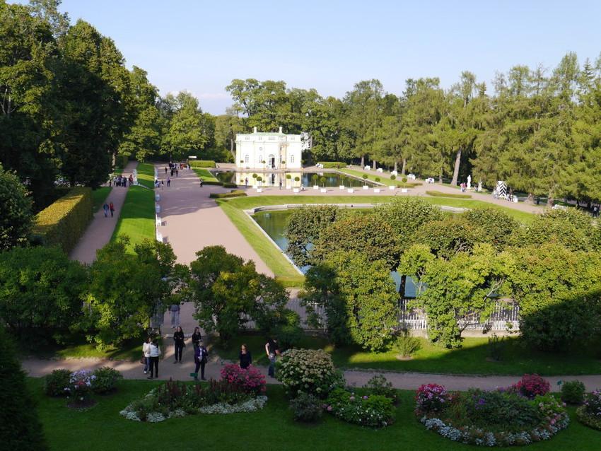 Вид на Екатерининский парк
