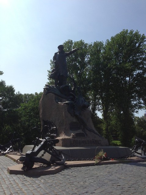 Монумент адмиралу С.О.Макарову
