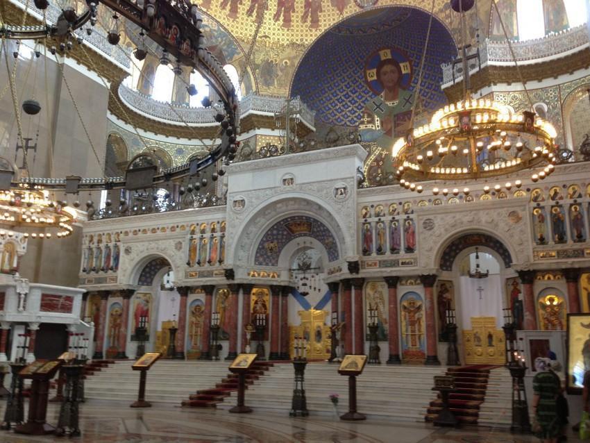 Внутри Морского собора