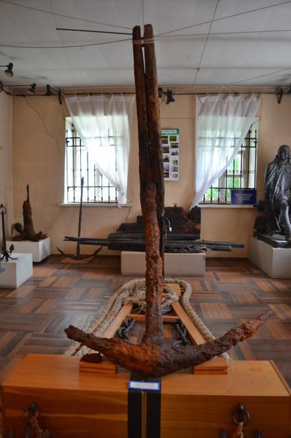 В музеях замка