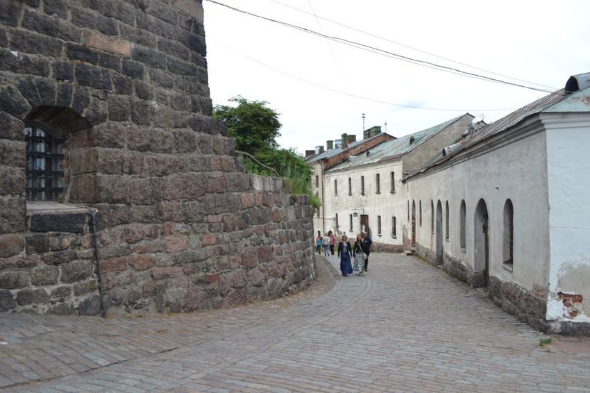 Улицы замка