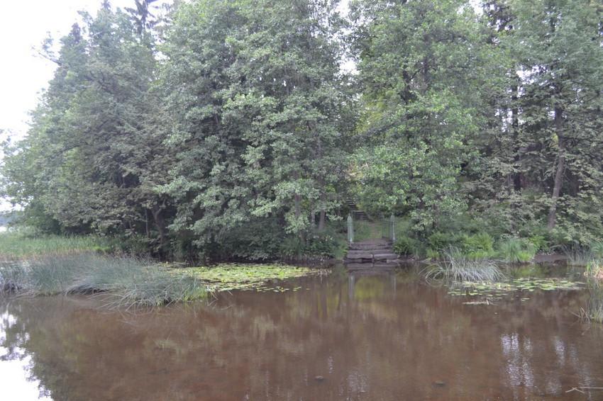 Остров с затонувшей переправой