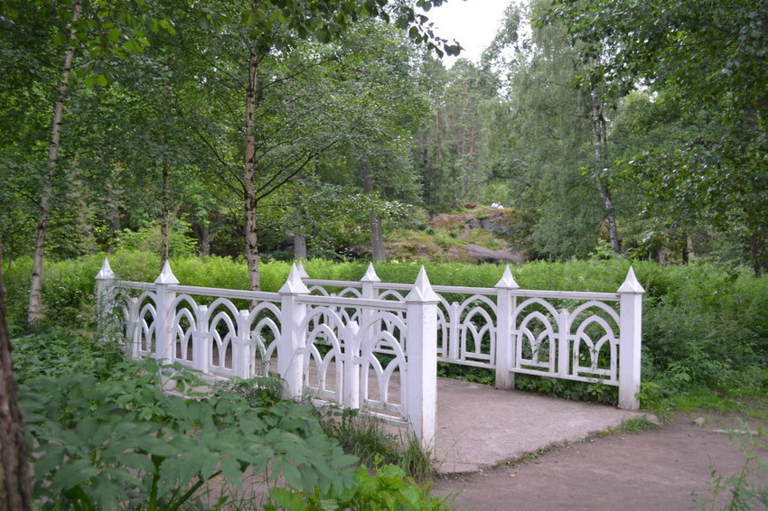 Мосты в парке