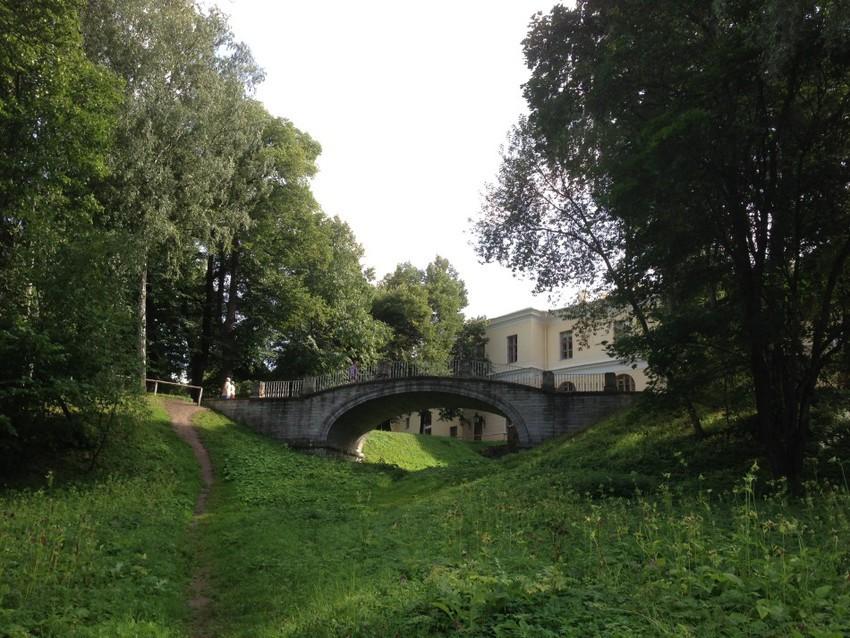 Мостики парка