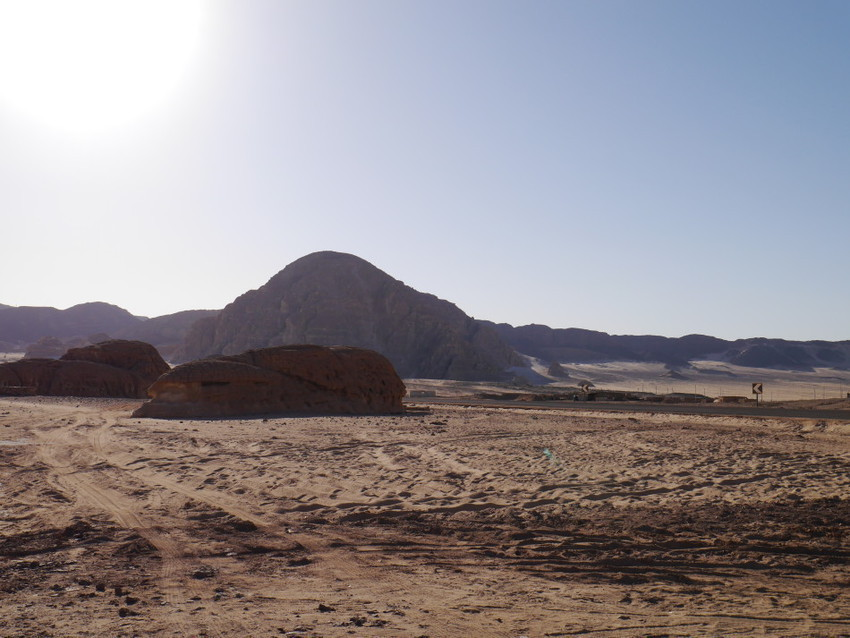 Едем в пустыню