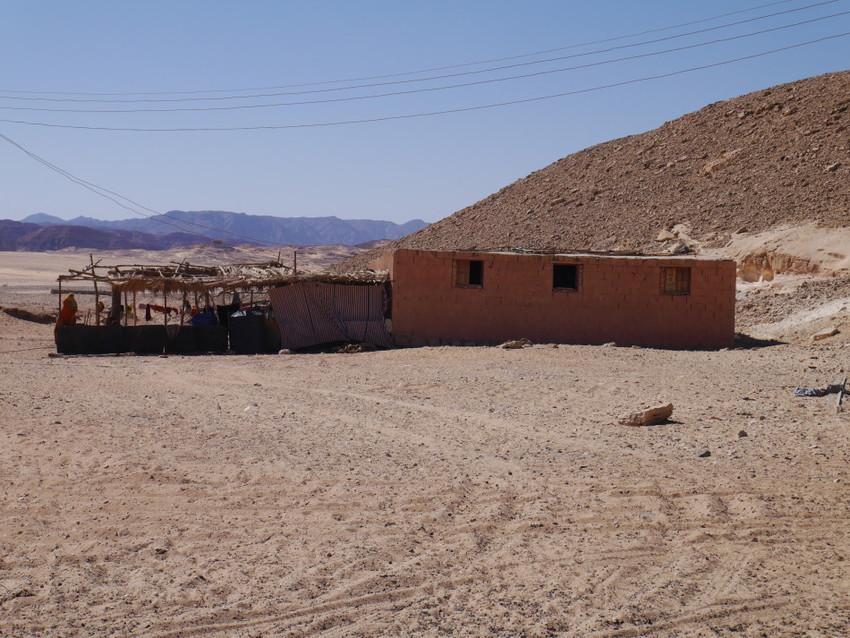 Бедуинский дом