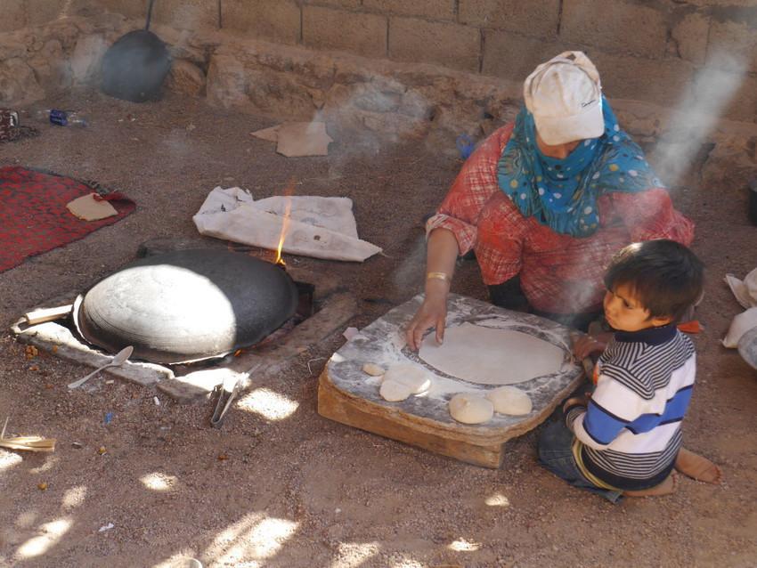 бедуинские лепешки