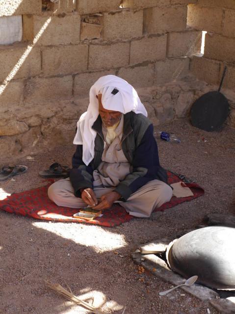 Бедуины. Дедушка.