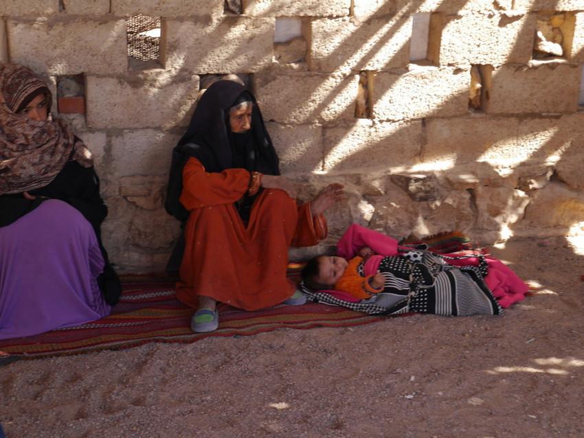 Бедуины. Бабушка.