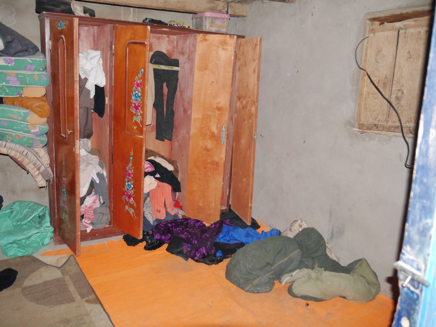 Внутри жилища бедуинов