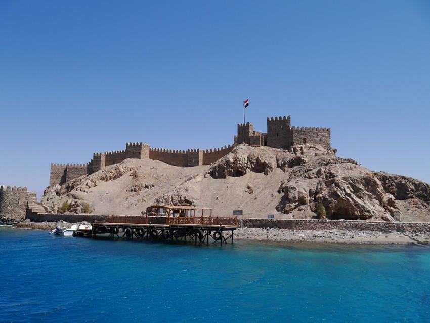 Остров Фараона. Крепость