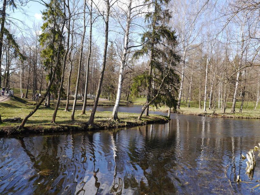 Каналы парка
