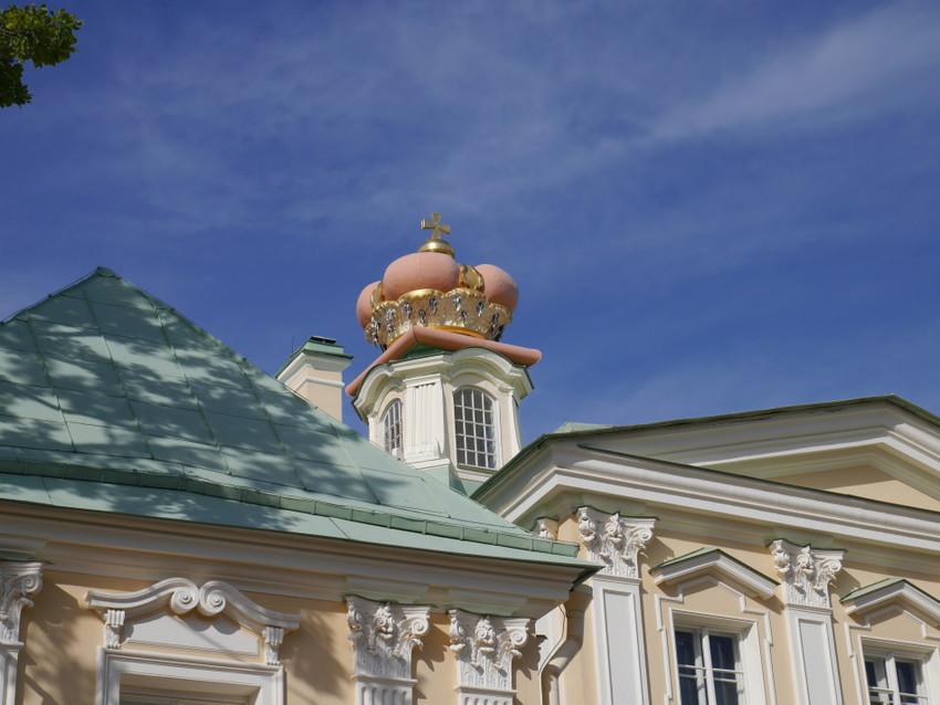 Корона на Большом дворце