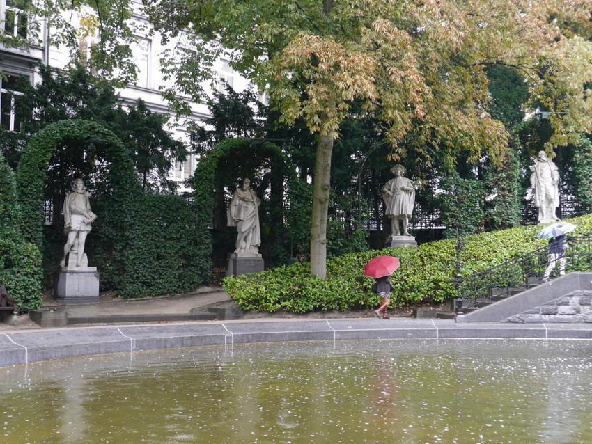 Парки Брюсселя