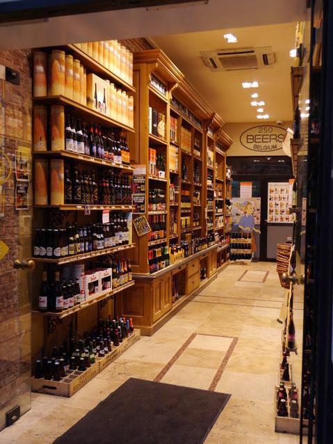 Магазин пива в Брюсселе