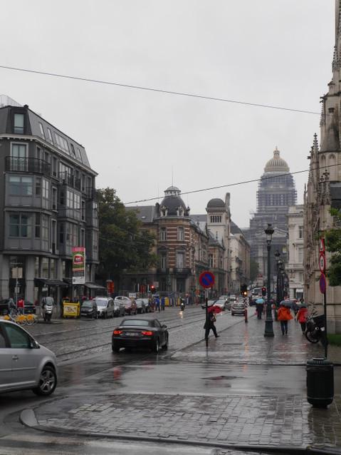 Улицы Брюсселя