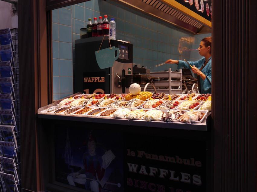 Брюссельские вафли