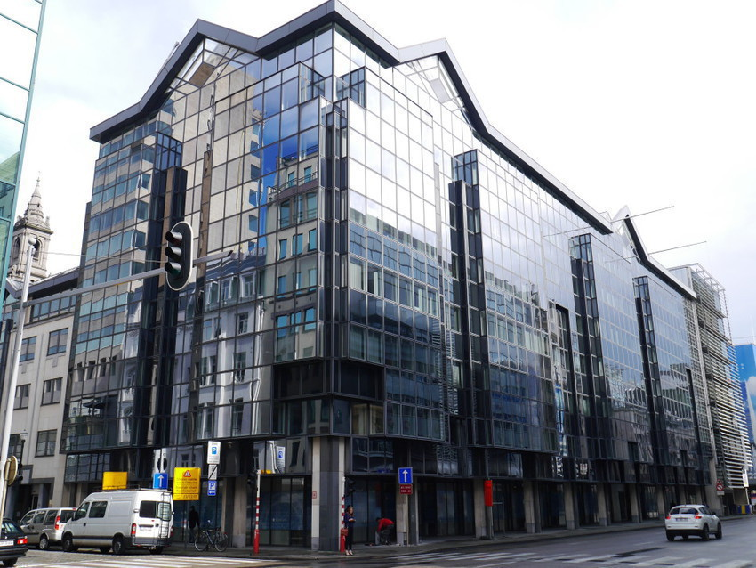 Современные здания Брюсселя