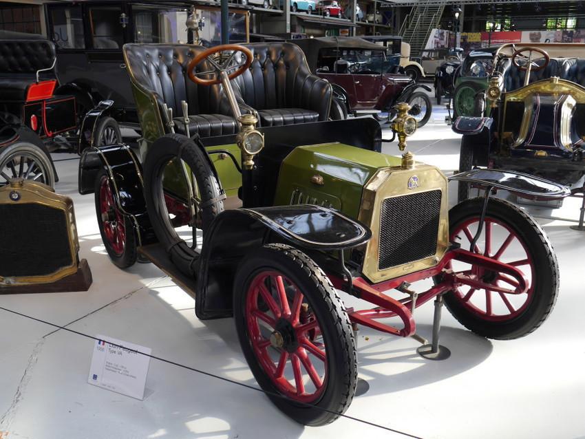 Модель Lion-Peugeot 1906 г.