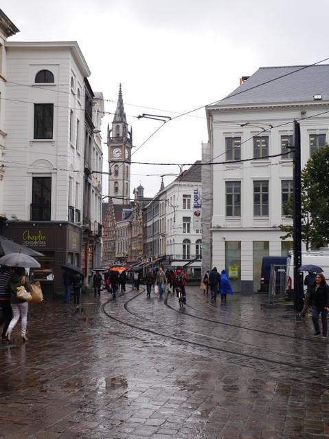 Городские улицы Гента