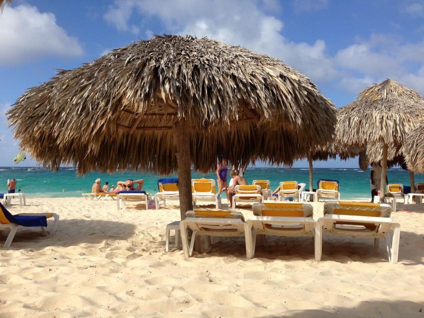 Море и песок в Доминикане