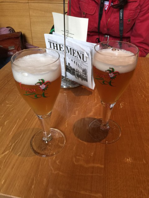 Пиво после экскурсии