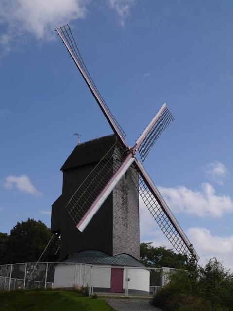 Старая ветряная мельница - музей