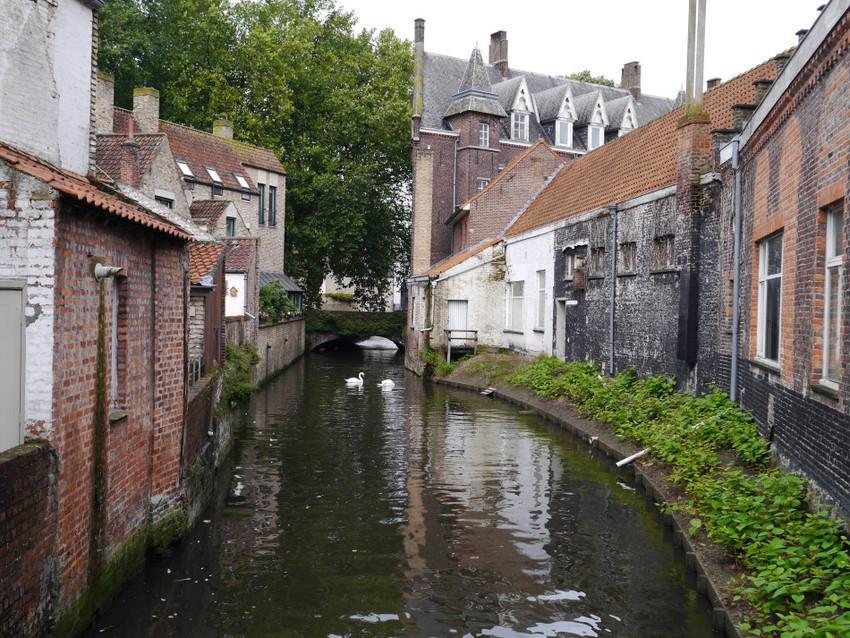 Каналы и дома Брюгге