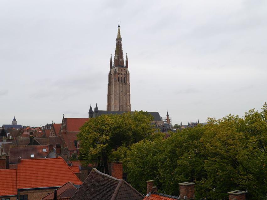 Вид на город с обзорной площадки